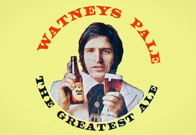 Watney's Pale ad c.1968.