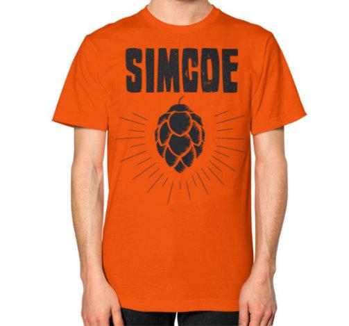 SIMCOE w. hop flower design