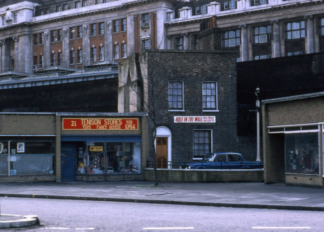 The Hole in the Wall in 1981.