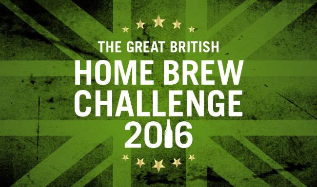 The Great British Home Brew Challenge 2016. (Logo)