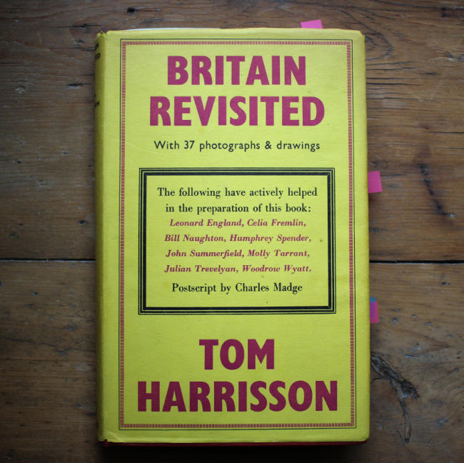 Book cover: Britain Revisited.