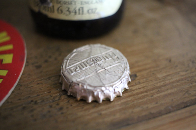 Thomas Hardy beer bottle cap: 'Huntsman'.