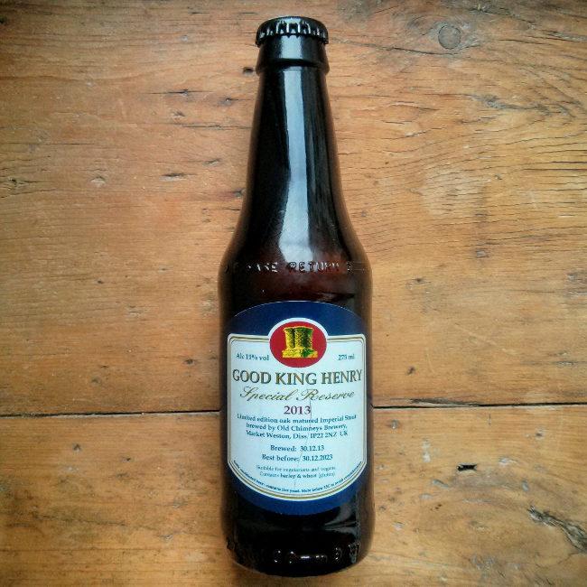 Good King Henry Special Reserve (bottle).