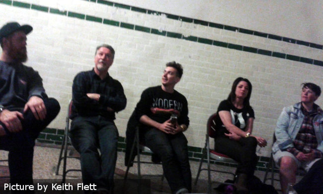 The debate at IndyManBeerCon
