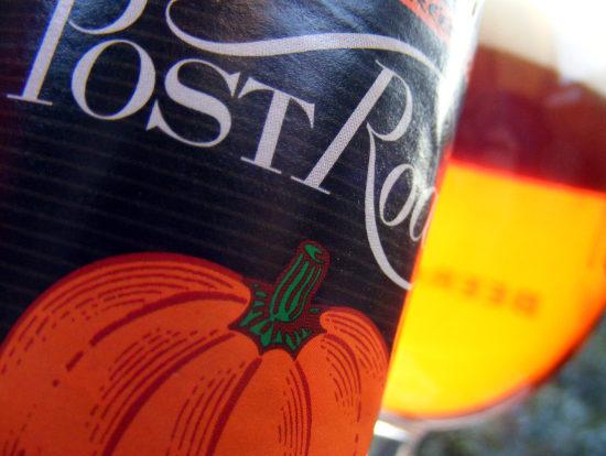 Pumpkin beer c.2008.