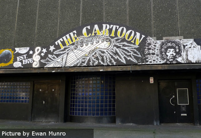 The Cartoon -- entrance.