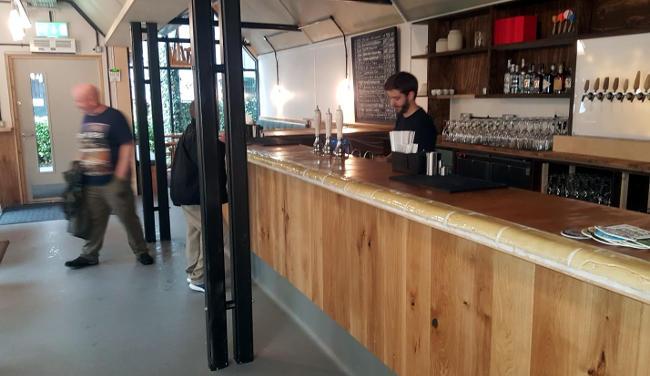 The Pilcrow, bar area.