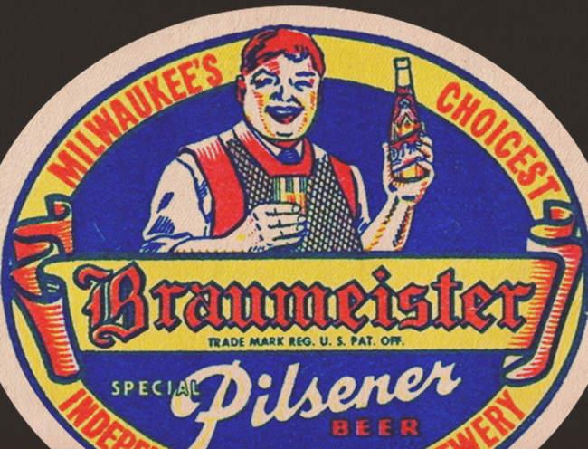 Braumeister Pils beer mat.