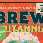 Brew Britannia cover with award stickers.