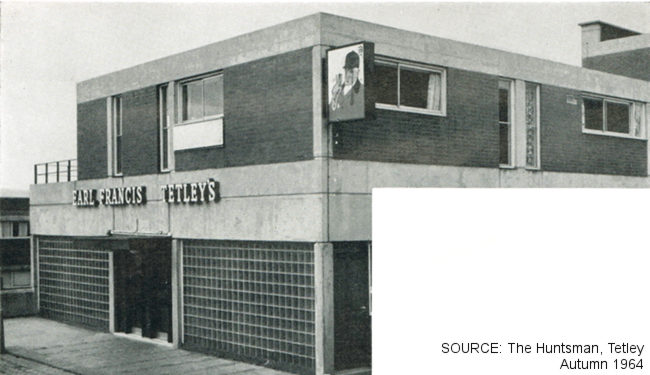 The Earl Francis, Park Hill, Sheffield -- exterior.