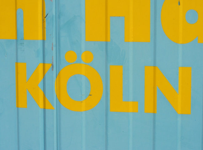 Shipping container: KOLN.