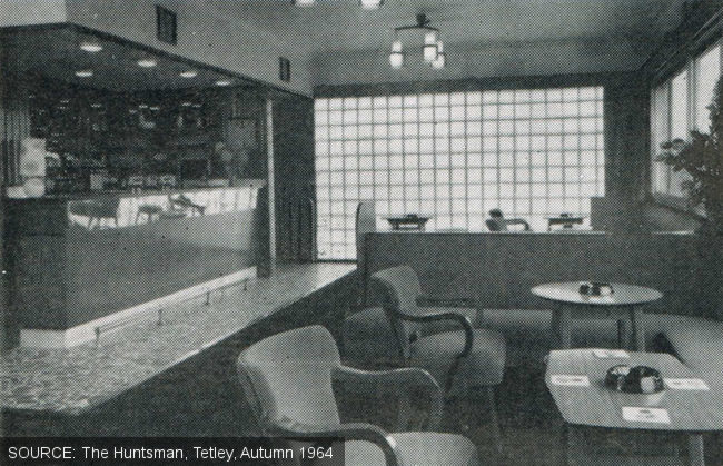 The lounge at the Earl Francis.