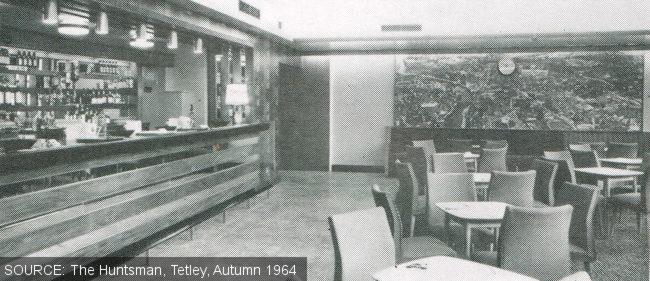 The lounge at The Ebor, Burmantofts, Leeds.