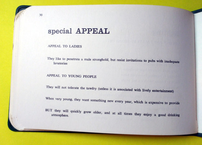 Page 30: Special Appeal to women and young people.