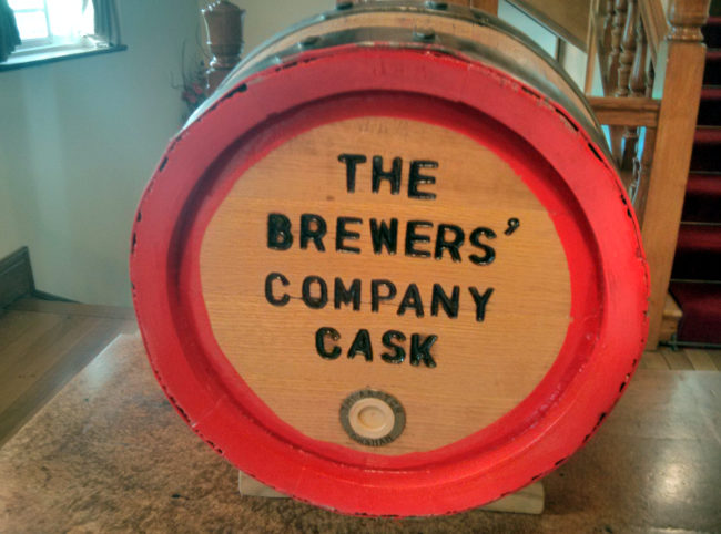 The Brewers' Company Cask.
