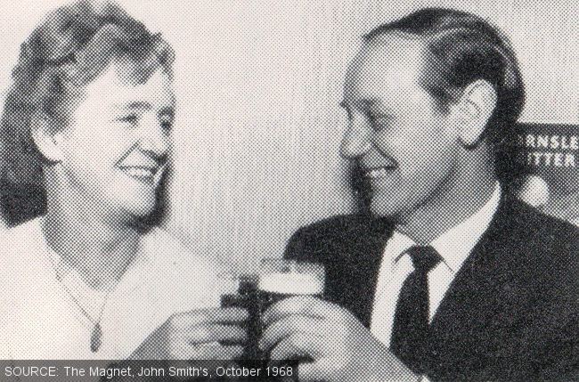 Nessie and Fred Barnes.