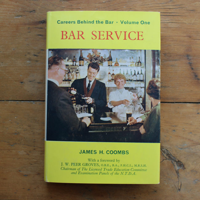 The cover of 'Bar Service'.