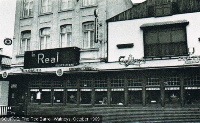 Le Real, Brussels, 1969.