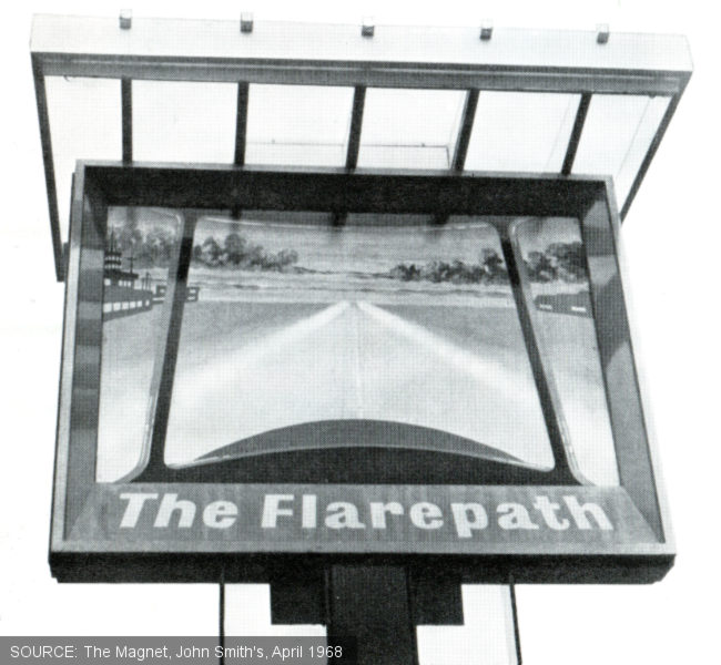 The sign of The Flarepath.