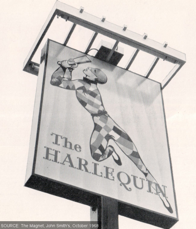 The sign of the Harlequin.