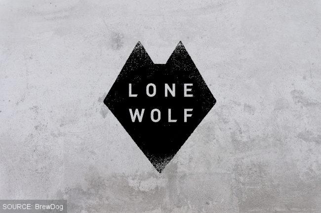 Lone Wolf spirits logo.
