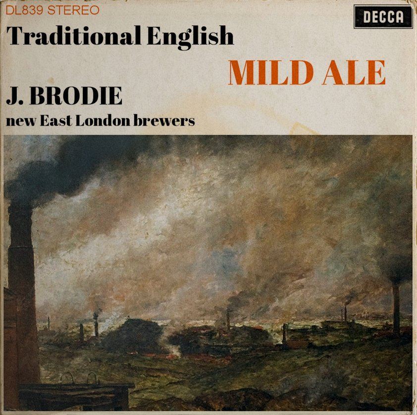 Mild Ale as a classical LP.