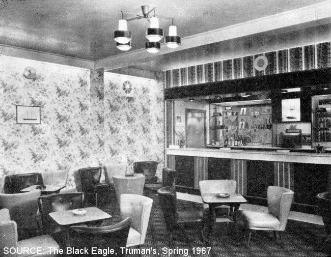 The public bar at the Schooner.