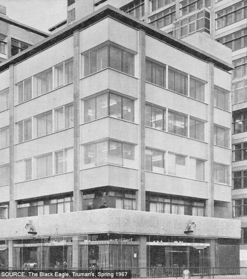 Exterior of the Elephant & Castle, a brutalist block.
