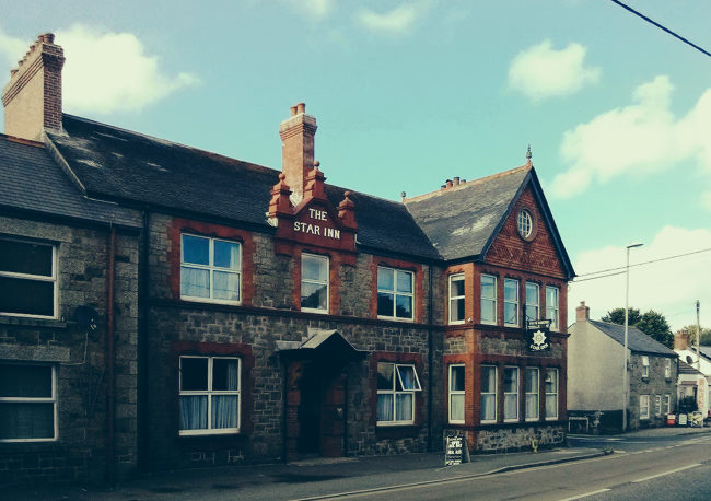 The Star Inn, Crowlas (exterior)