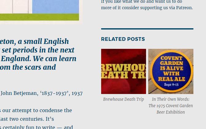 Related posts widget.