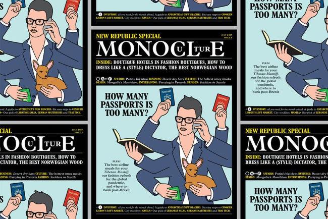 Illustration: Monocle magazine.