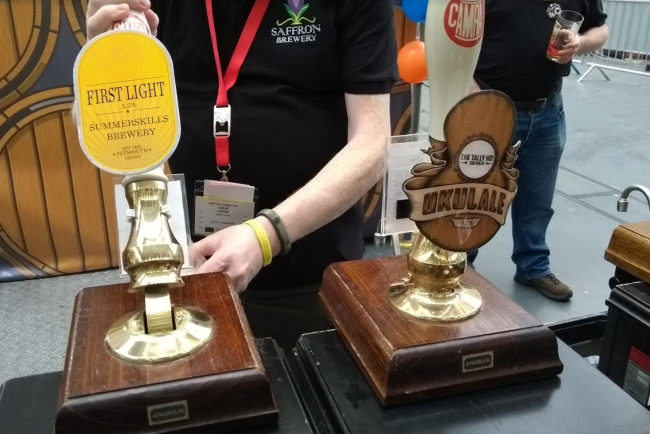 GBBF handpumps in action.