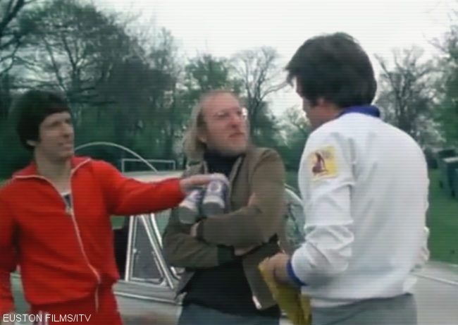 A screengrab from The Sweeney.