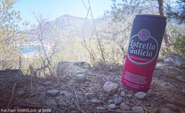 A can of Estrella Galicia.