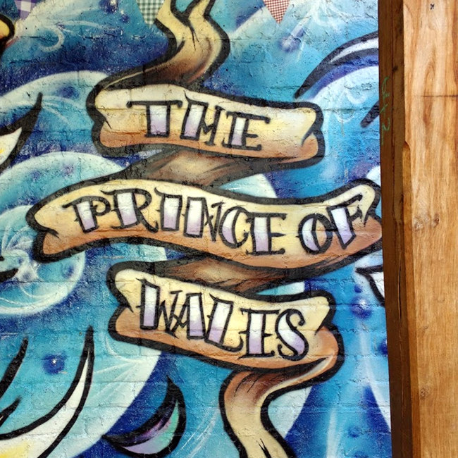 """""""The Prince of Wales"""" (scrolll)"""