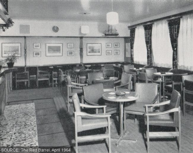 Interior of the Sir John Franklin.