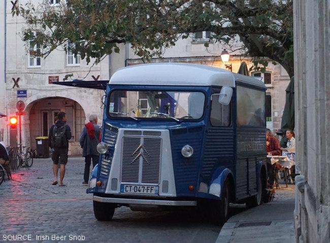 Citroen van in La Rochelle.
