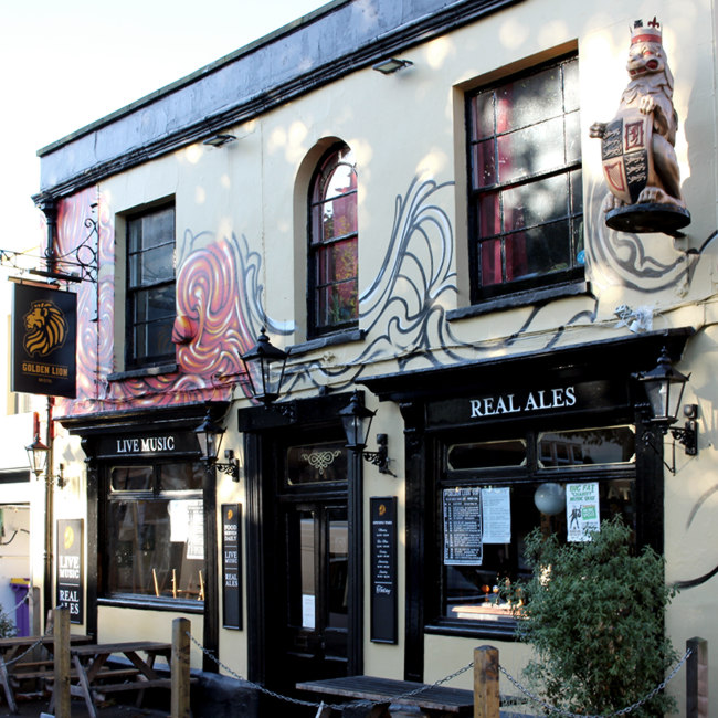 The Golden Lion, front.