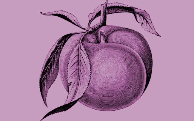 A plum.