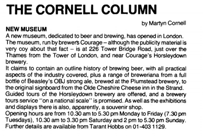 The Cornell Column, June 1980.
