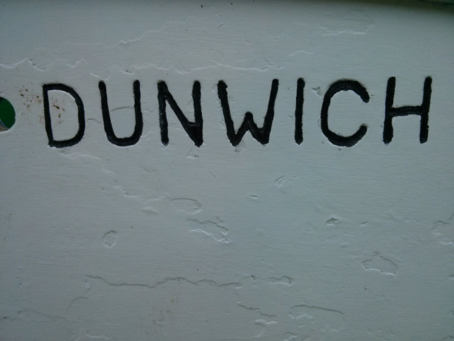 Dunwich sign.