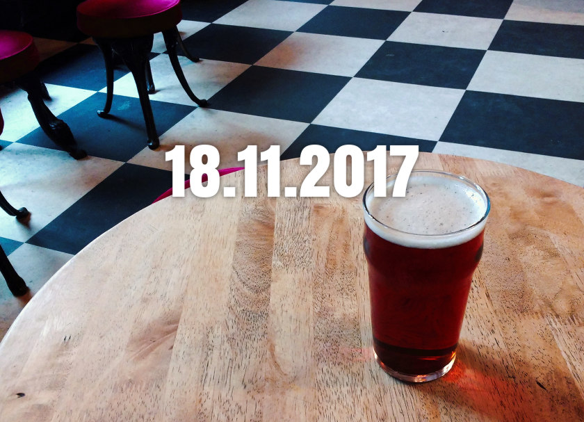 News, Nuggets & Longreads 18 November 2017: Fenlands, FOBAB, Froth