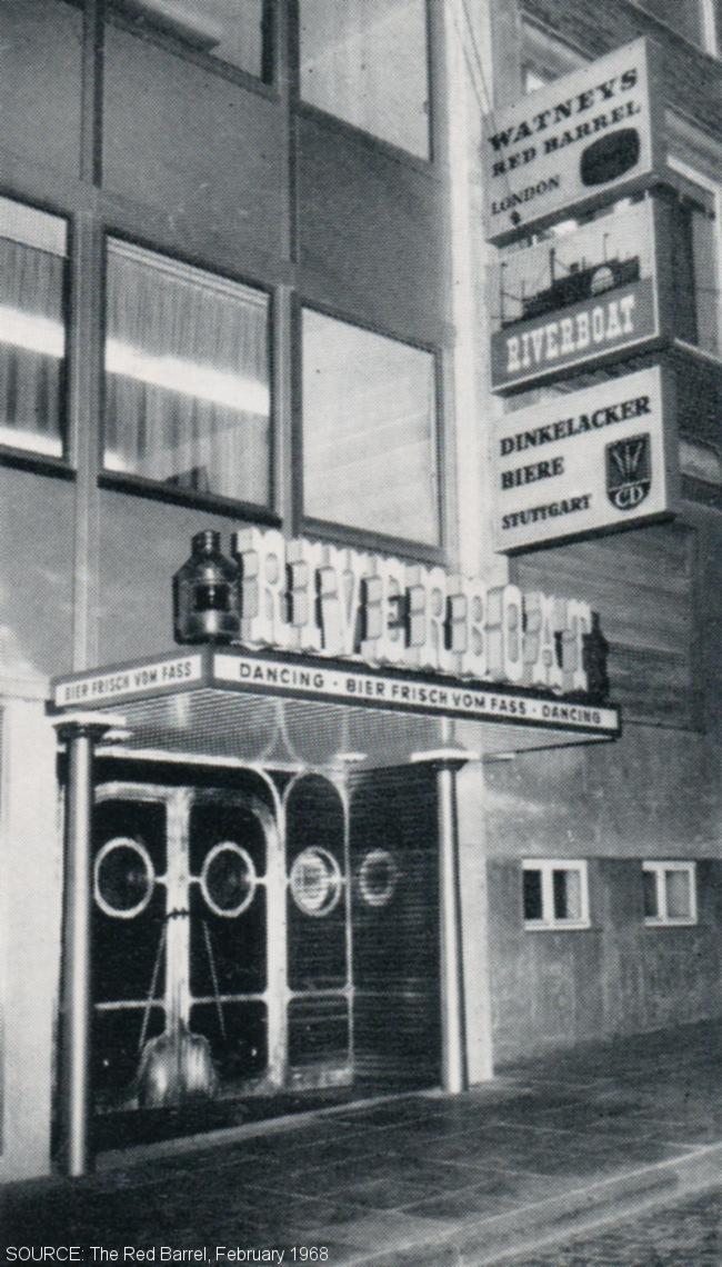A German bar.
