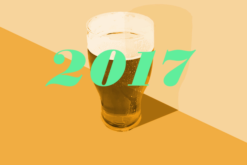 Golden Pints 2017.