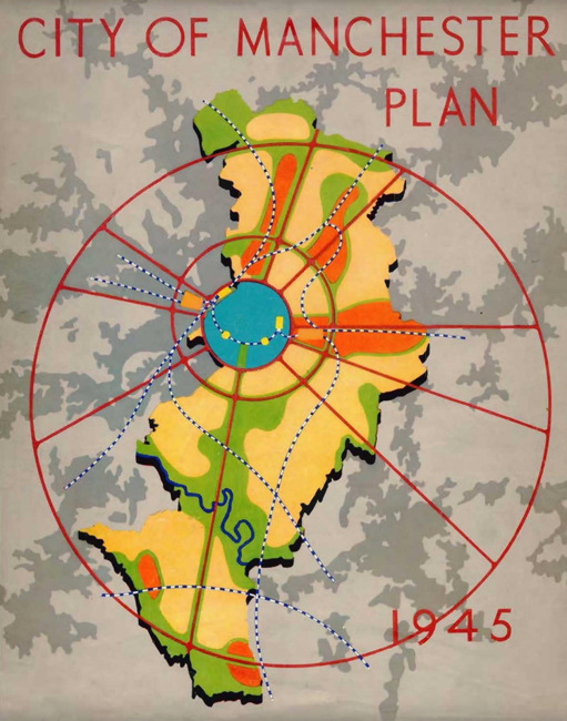 City of Manchester Plan, 1945