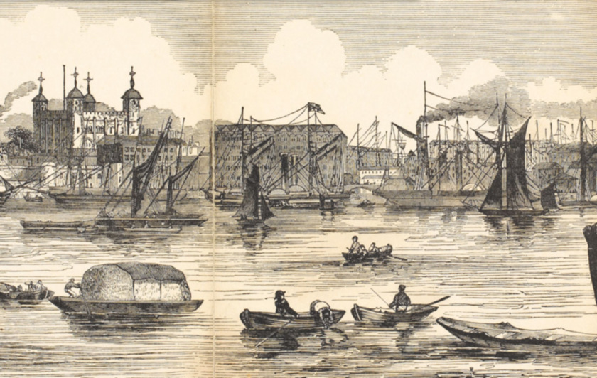 Purl, Bumboats and the Pool of London