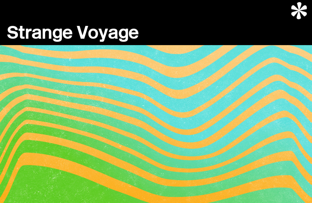 Abstract illustration: Strange Voyage.
