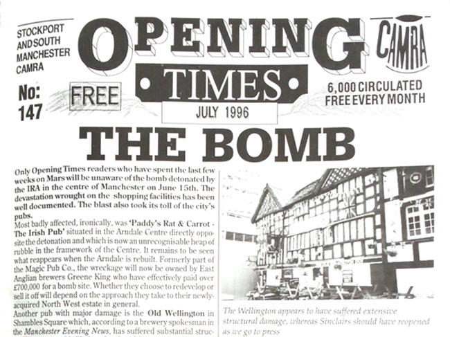 "Headline: ""THE BOMB""."