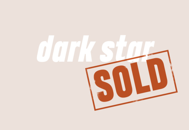 Illustration: dark star -- SOLD