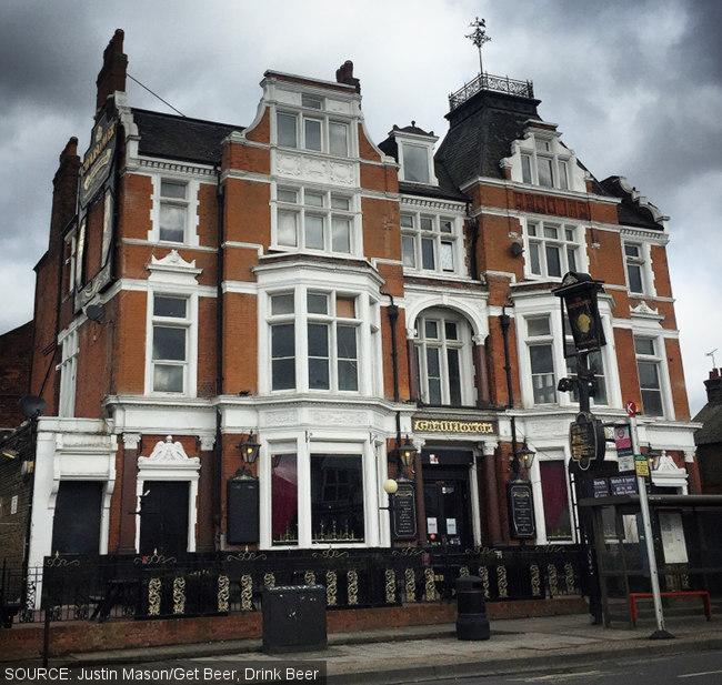 The Cauliflower, a grand Victorian pub.